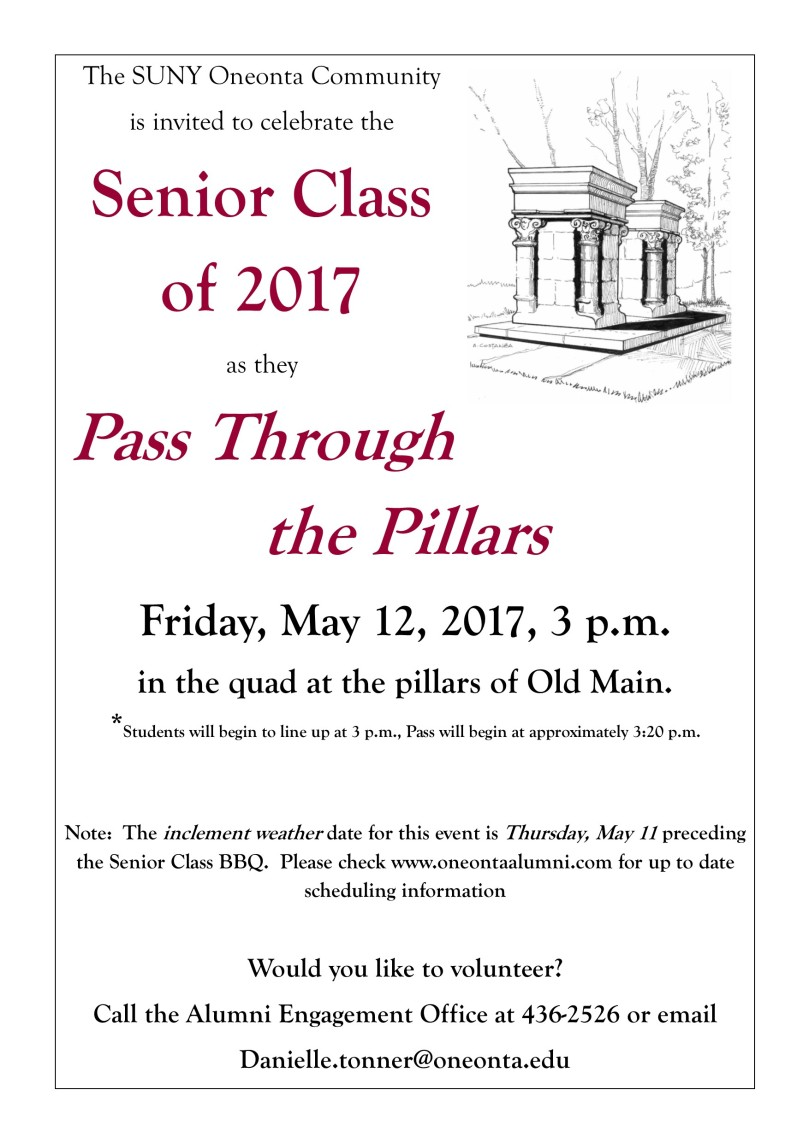 Pass Through the Pillars